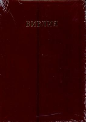 Библия (Коричневая, кожа, инд., зол.обр. V16-077-02)