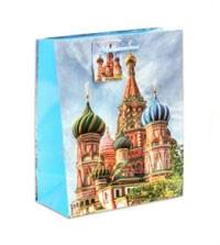 Пакет подарочный Москва 18см х 23 см х 10 см