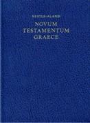 Новый Завет на греческом языке, 27-ое изд.(Нестле-Аланд). Novum Testamentum Graece