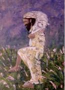 Картина Добрый Пастырь (автограф) в рамке Служение Марфы